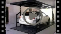 Residential Car Elevator (Home Car Elevator) Home Parking System, Vehicle Transport System (VTS-2-1) video